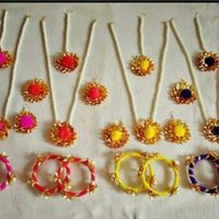 Gotta Jewellery (Per Set) of Necklace, Earrings and Bangles